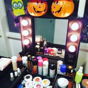 talleres de maquillaje para halloween, contratar maquilladores halloween, animación para la fiesta de halloween, taller de maquillaje para niños, maquillaje halloween