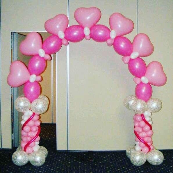 Decoraci n con globos para fiestas en barcelona arcos con - Bombas para decorar ...