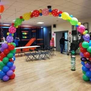 Decoración con globos para fiestas en Barcelona, arcos con