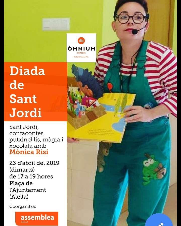 cuentacuentos de sant jordi para colegios, cuentacuentos de sant jordi para bibliotecas, cuentacuentos de sant jordi, titelles de sant jordi, contratar titelles de sant jordi, espectáculos para la fiesta de sant jordi