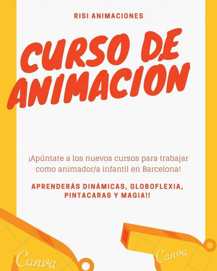 trabajar de animador infantil en barcelona, cursos de animador infantil, cursos para trabajar de animador infantil, cursos de magia, cursos de risoterapia en barcelona